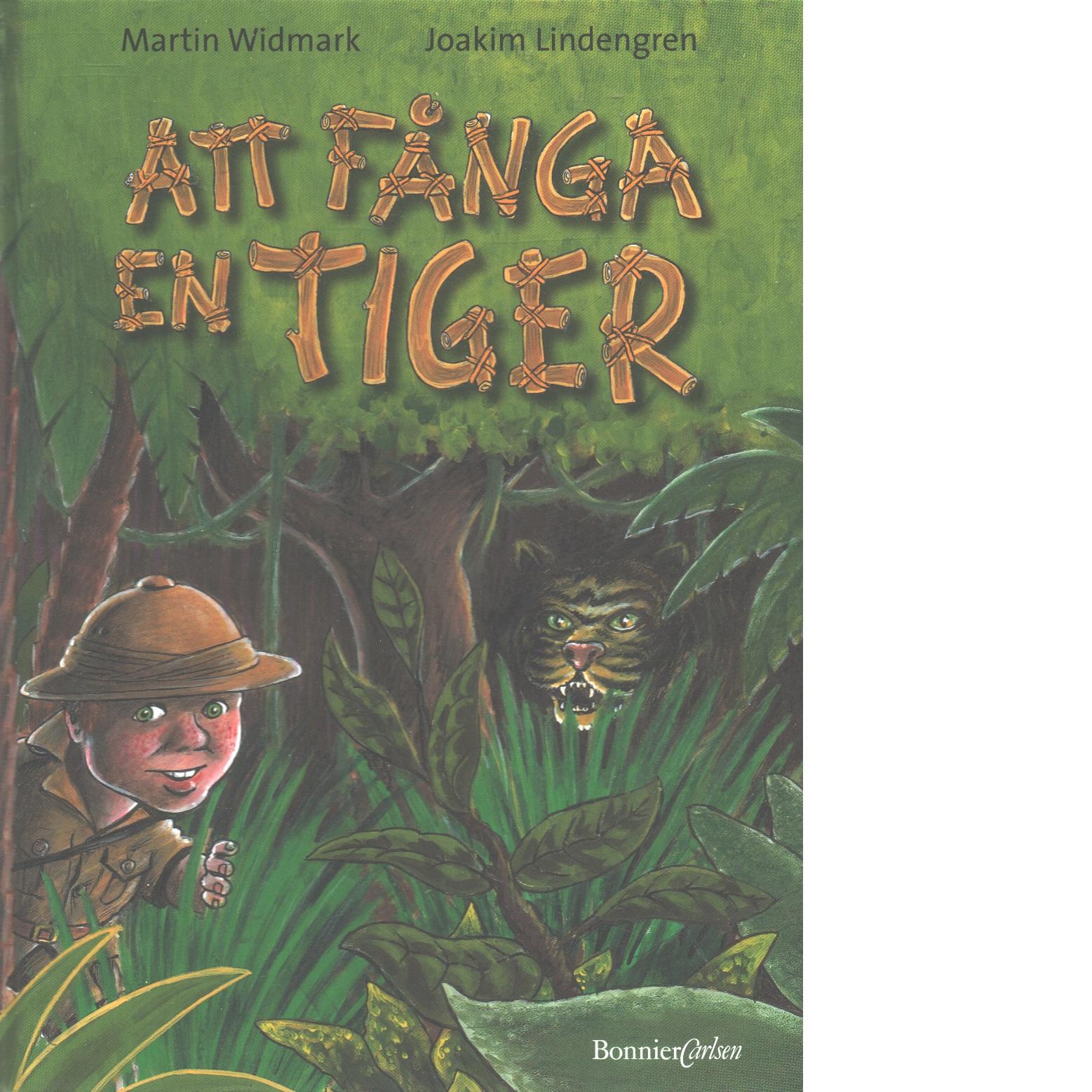 Att fånga en tiger - Widmark, Martin och Lindengren, Joakim