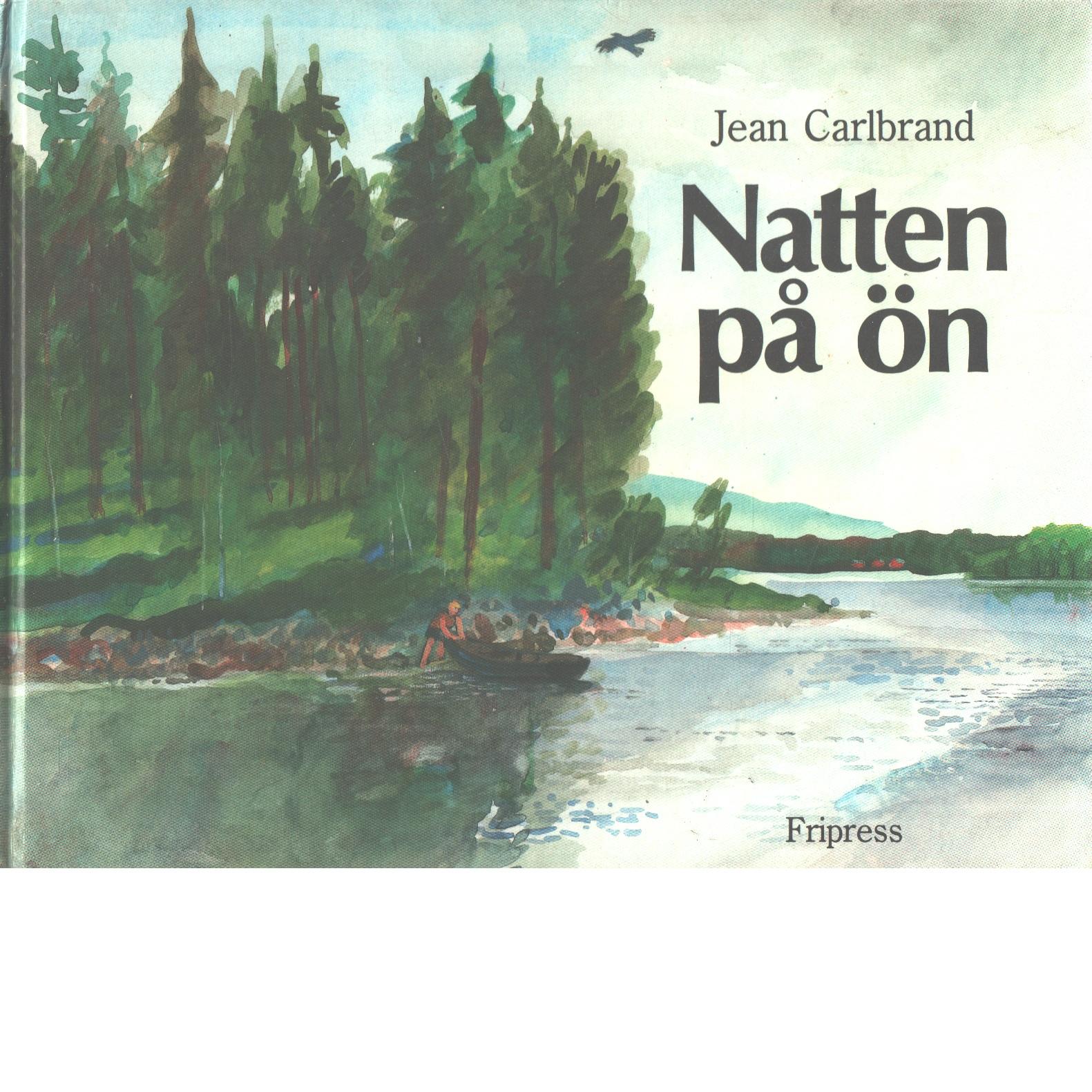 Natten på ön - Carlbrand, Jean