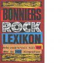 Bonniers rocklexikon : från Bill Haley till Imperiet - Sneum, Jan