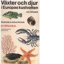 Växter och djur i Europas kustvatten : en fälthandbok - Campbell, Andrew Campbell
