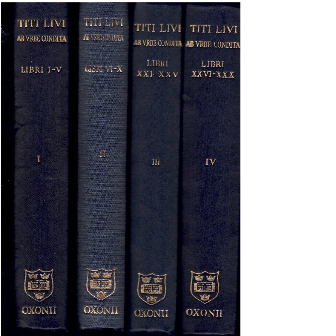 Ab vrbe condita - Livius, Titus (Livi, Titi)