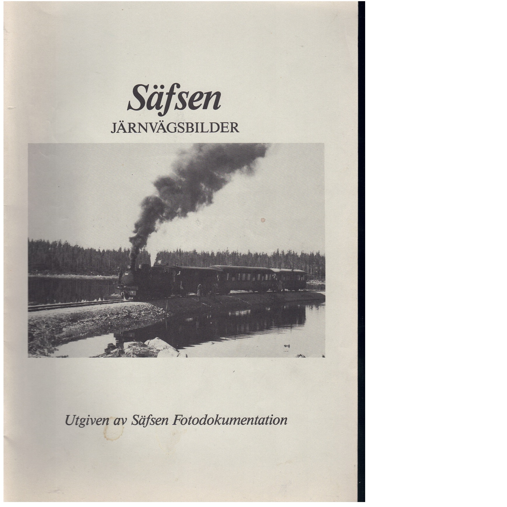 Säfsen : Järnvägsbilder - Red.