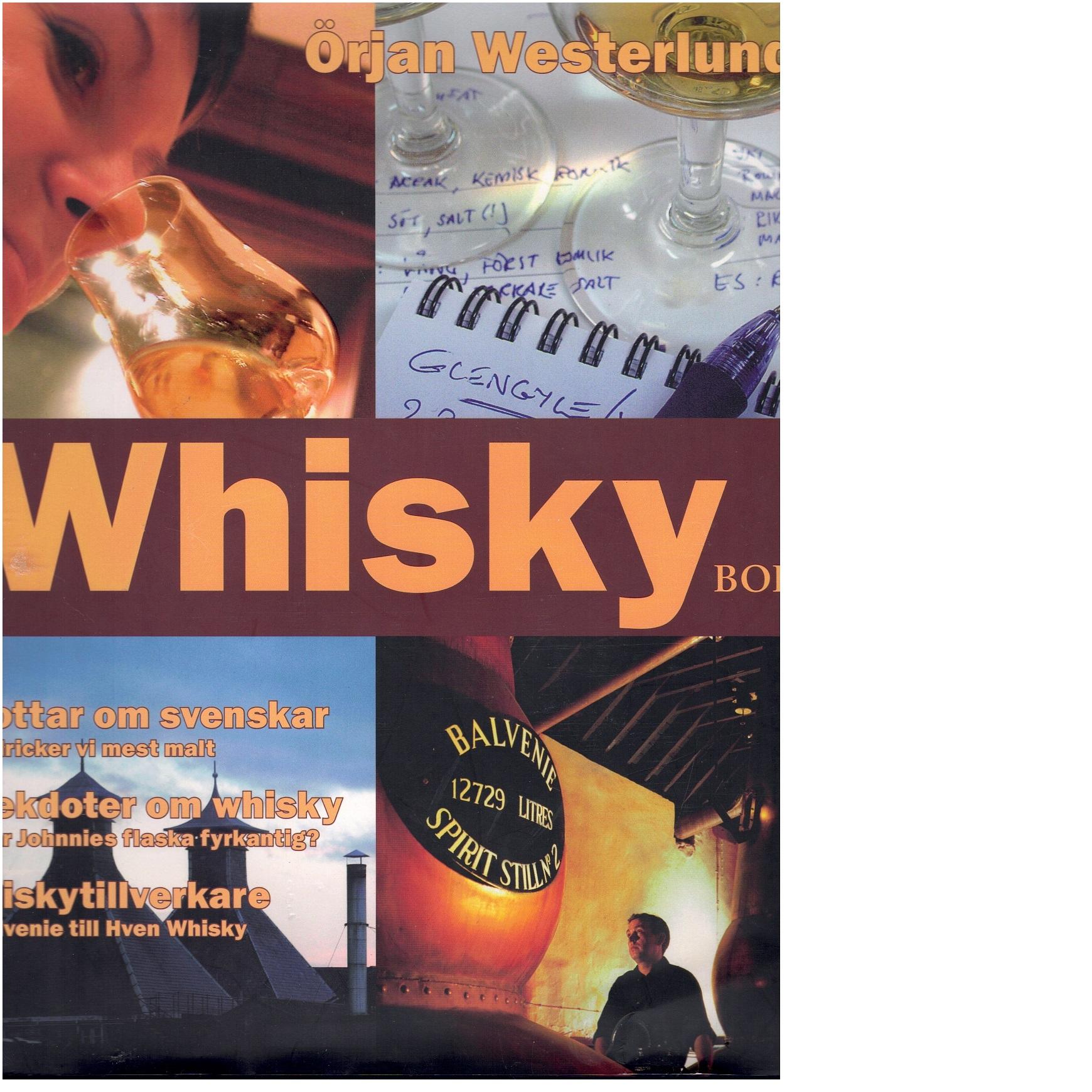 Svensk whiskybok - Westerlund, Örjan