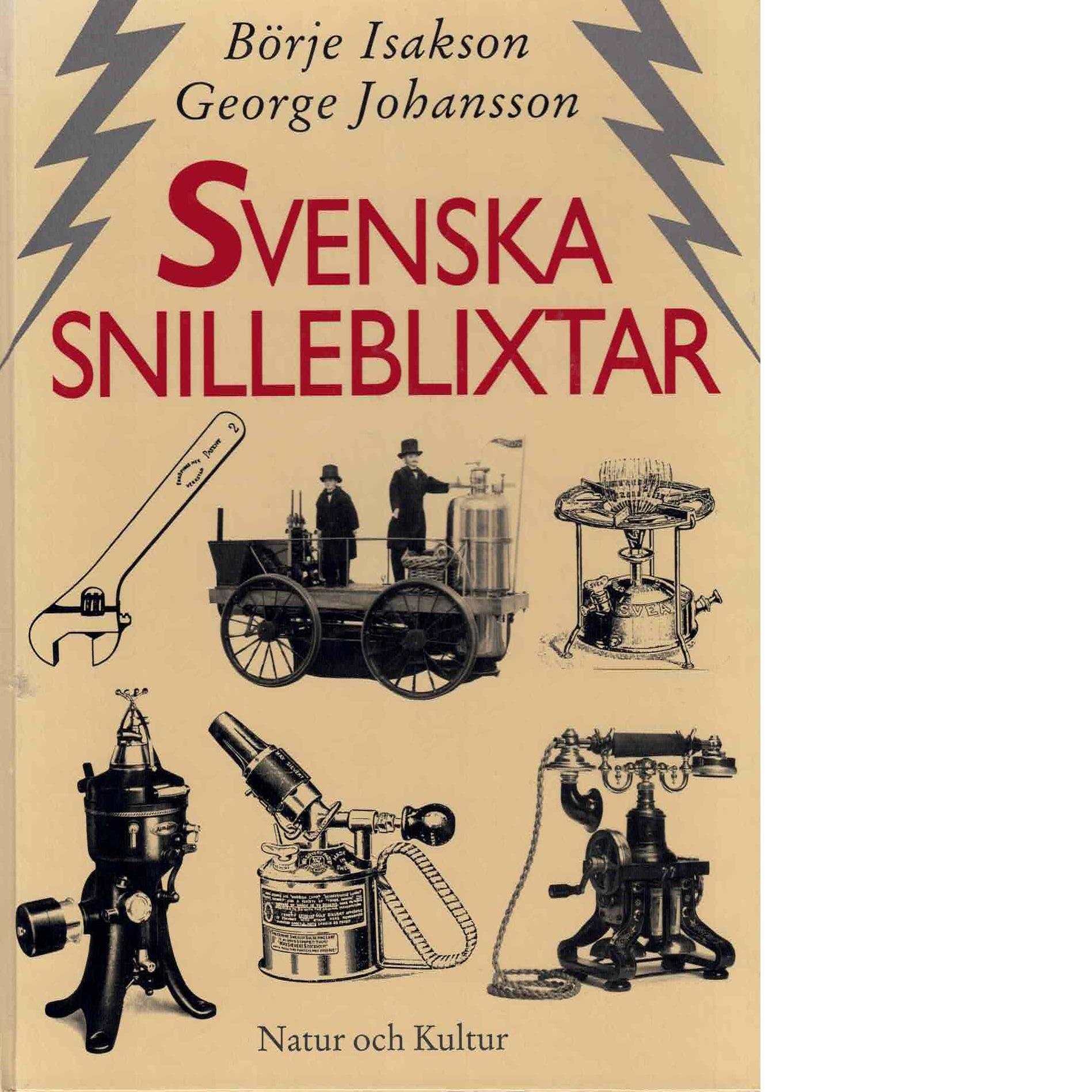 Svenska snilleblixtar [1] - Isakson, Börje och Johansson, George