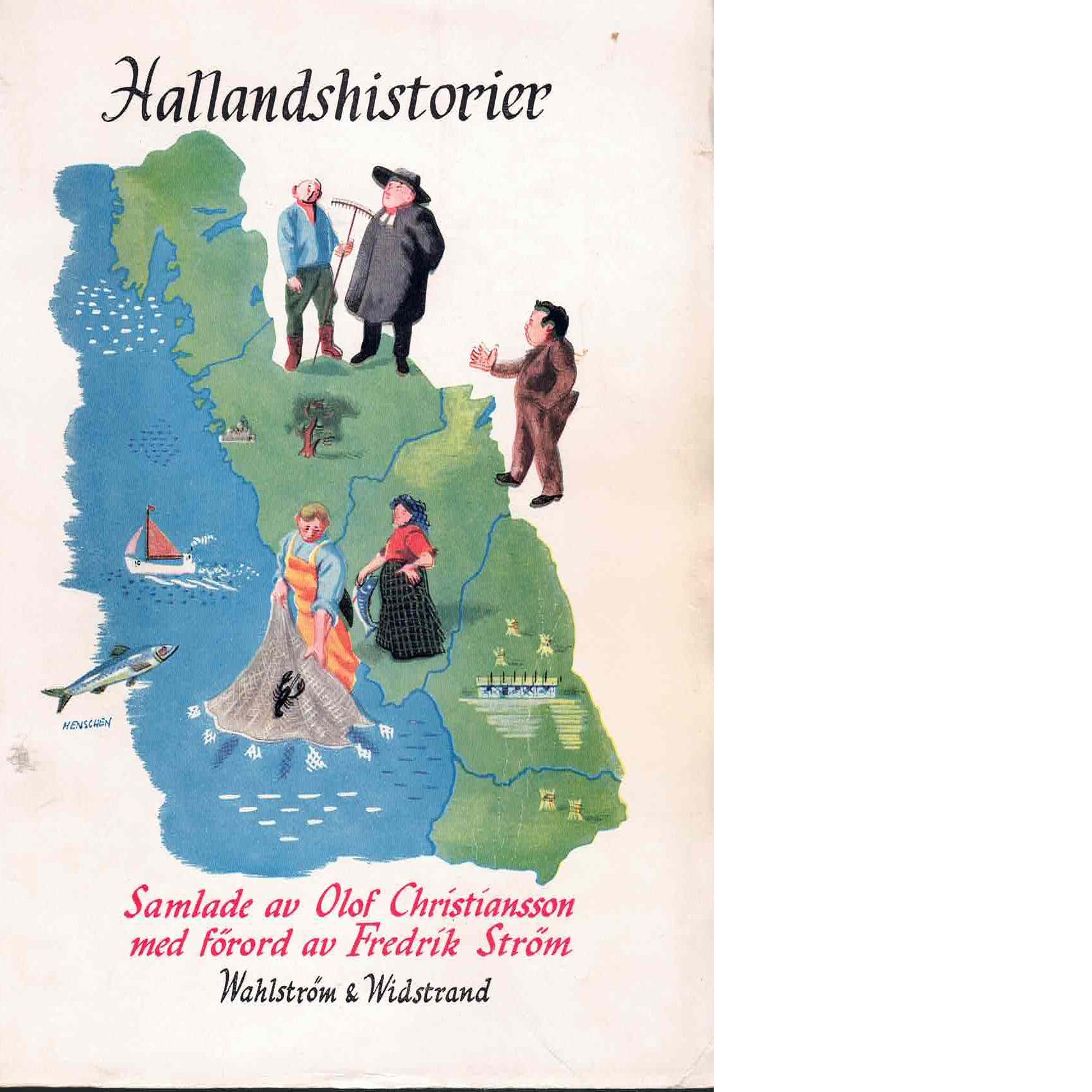Hallandshistorier - Red.