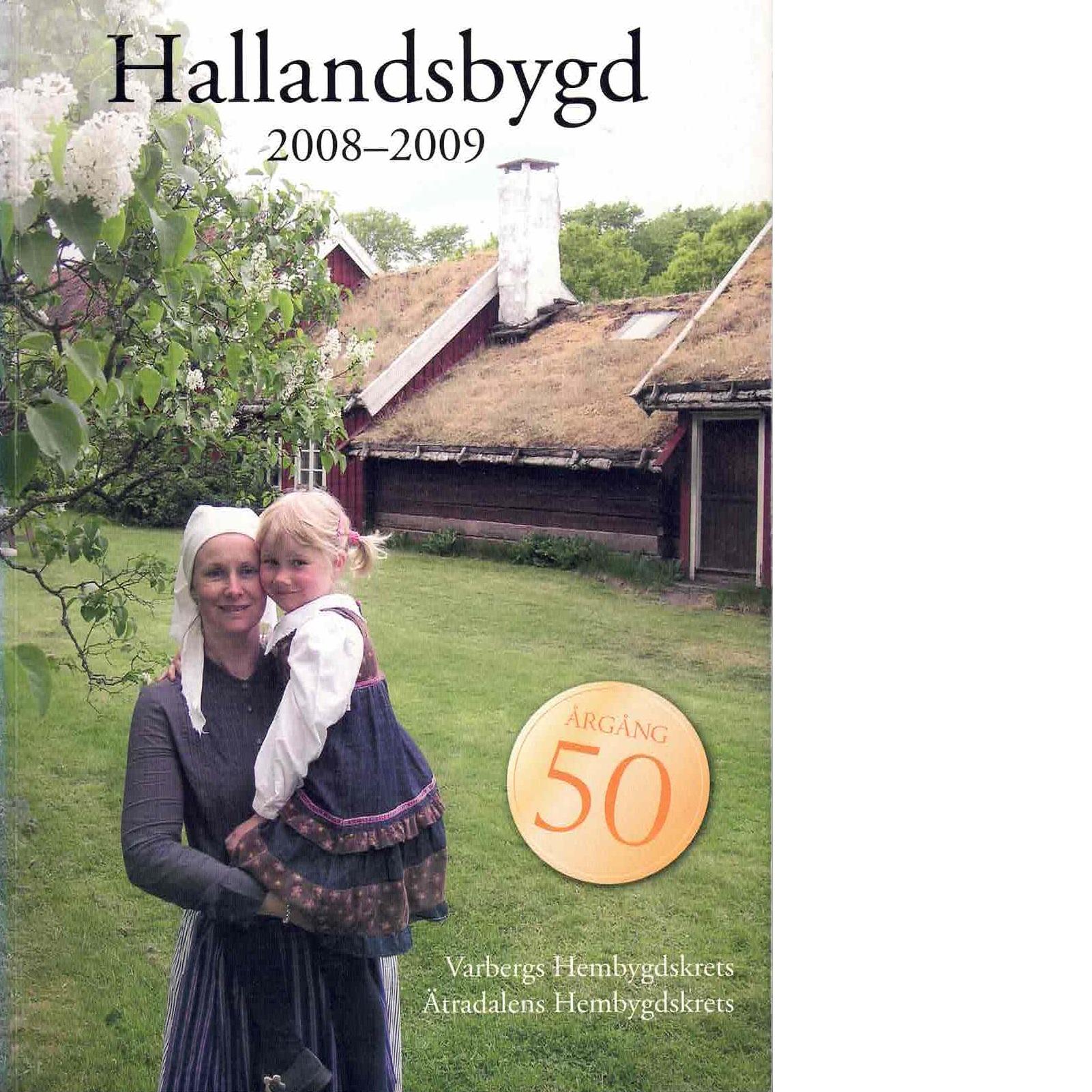 Hallandsbygd 2008-2009 - Red.