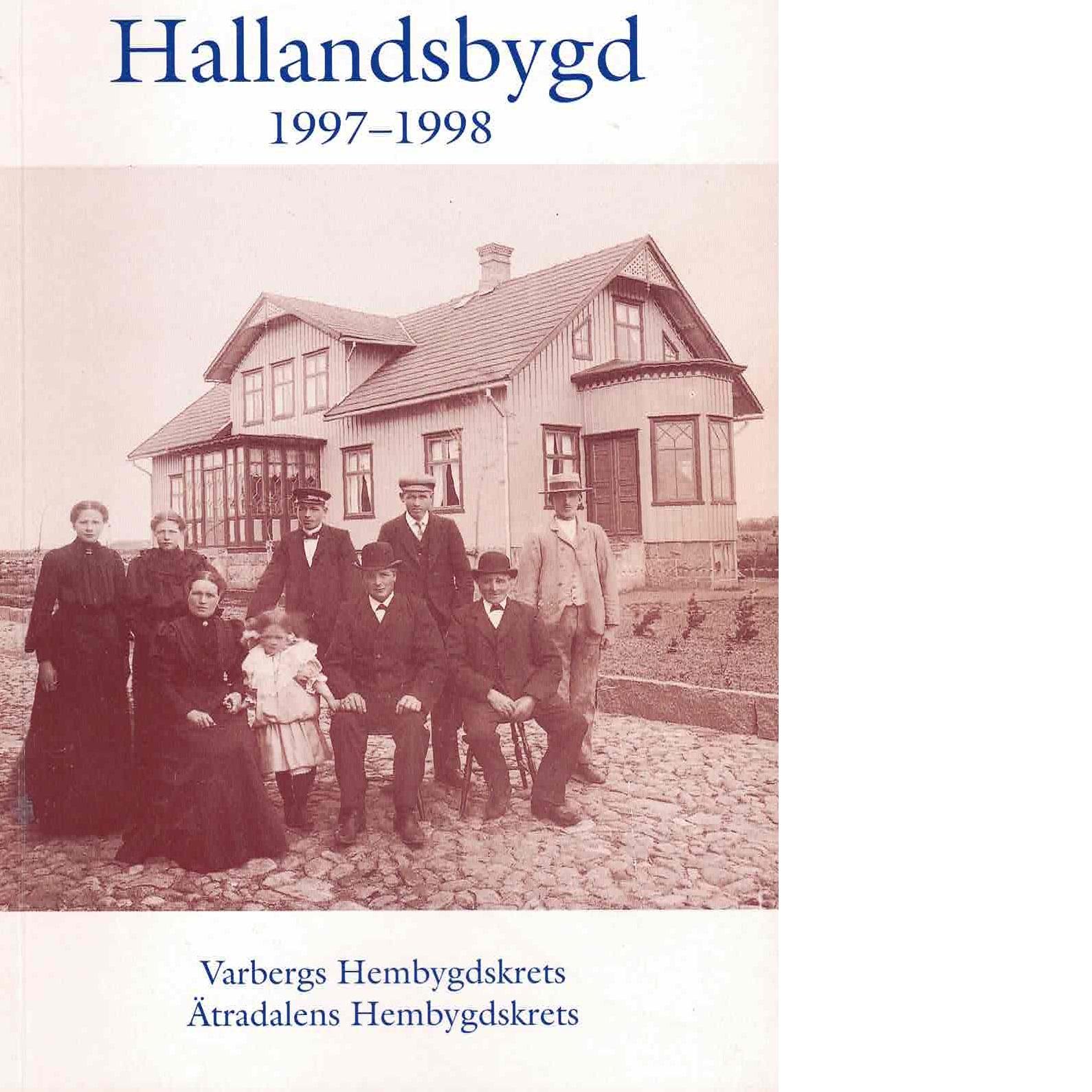 Hallandsbygd 1997-98 - Red.