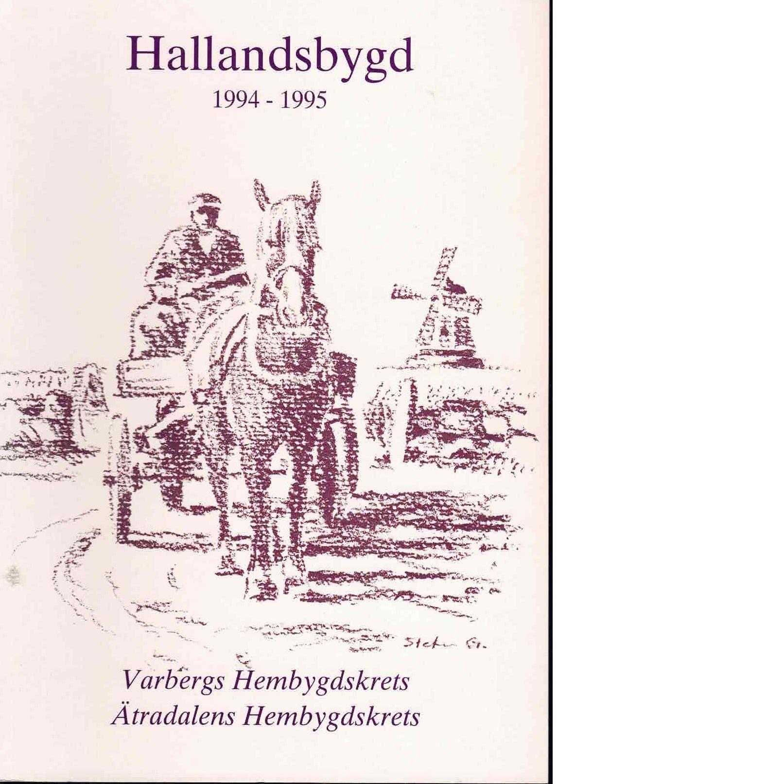 Hallandsbygd 1994-95 - Red.