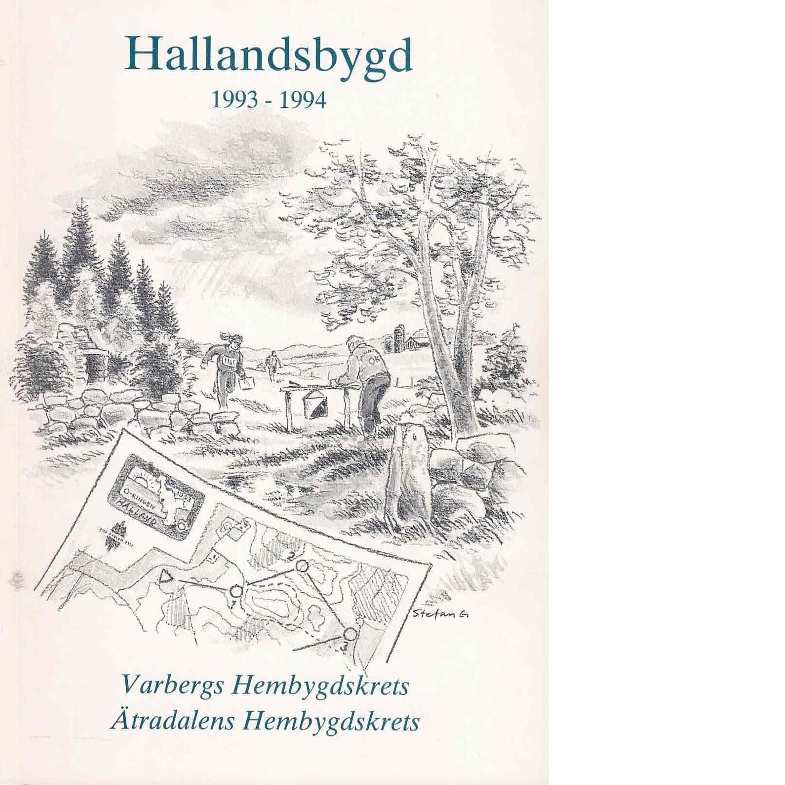 Hallandsbygd 1993-94 - Red.