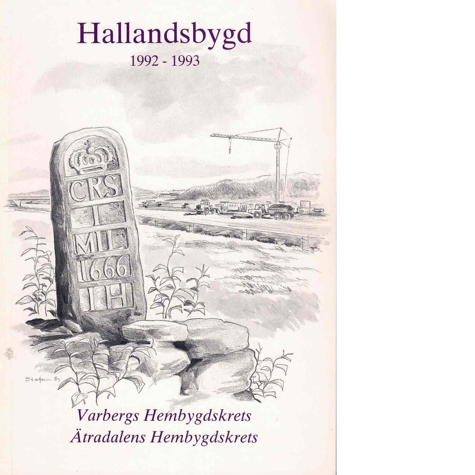 Hallandsbygd 1992-93 - Red.
