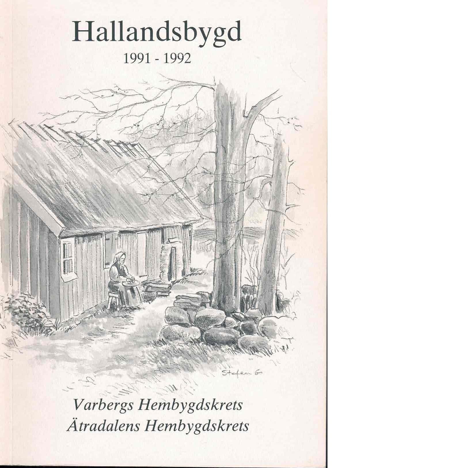 Hallandsbygd 1991-92 - Red.