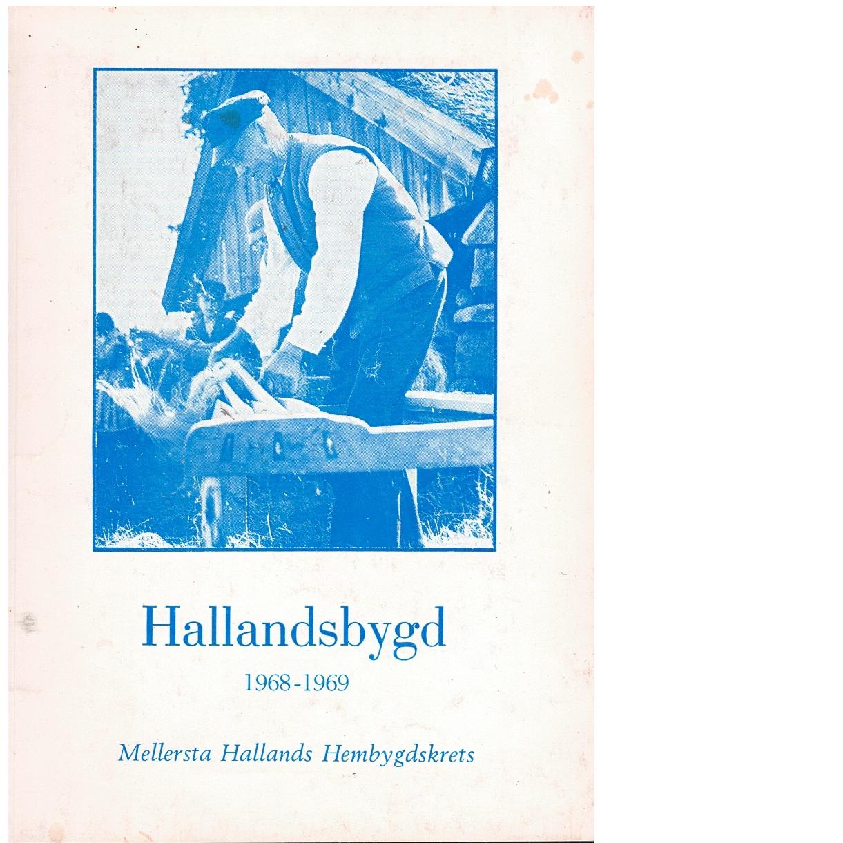Hallandsbygd 1968-69 - Red.