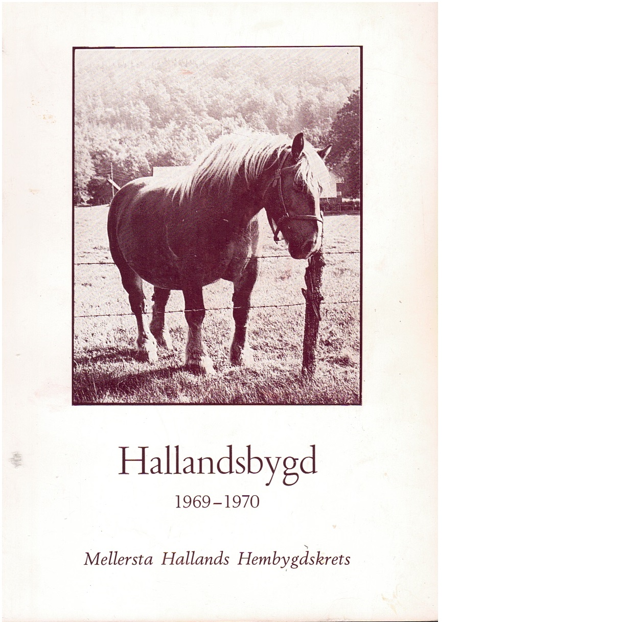 Hallandsbygd 1969-70 - Red.