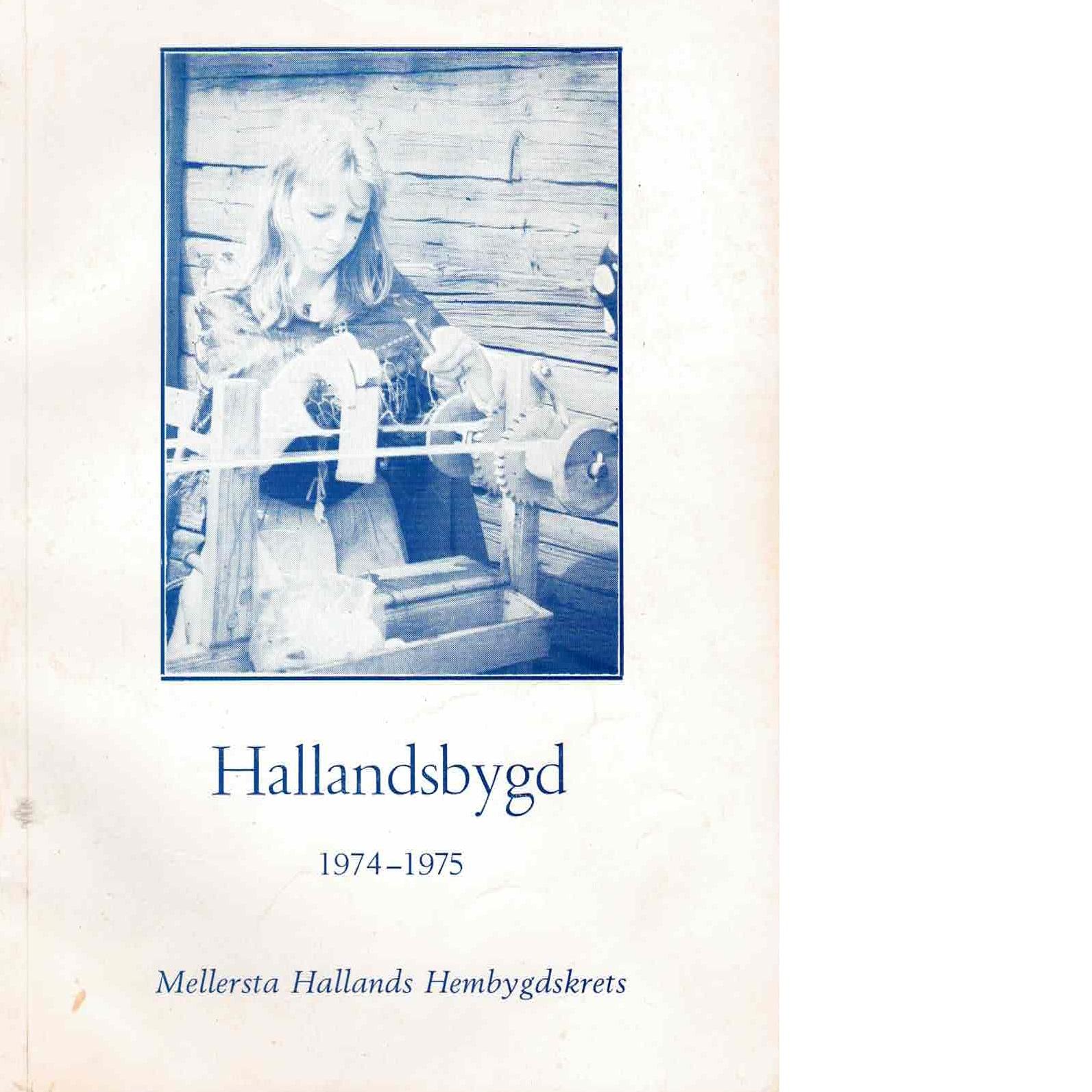 Hallandsbygd 1974-75 - Red.