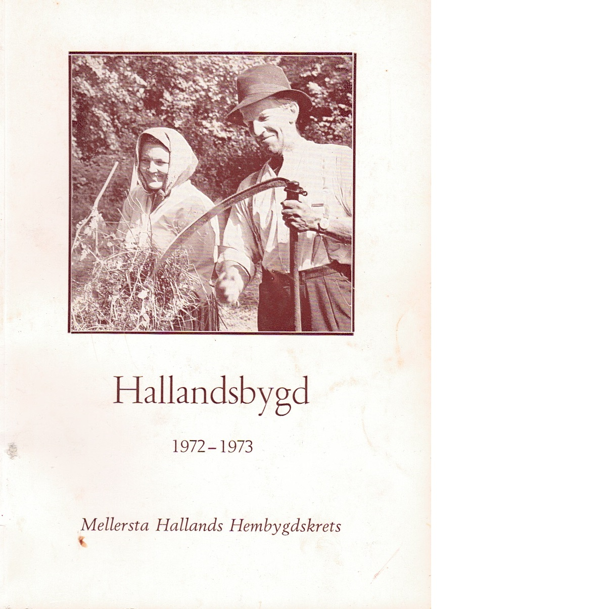 Hallandsbygd 1972-73 - Red.