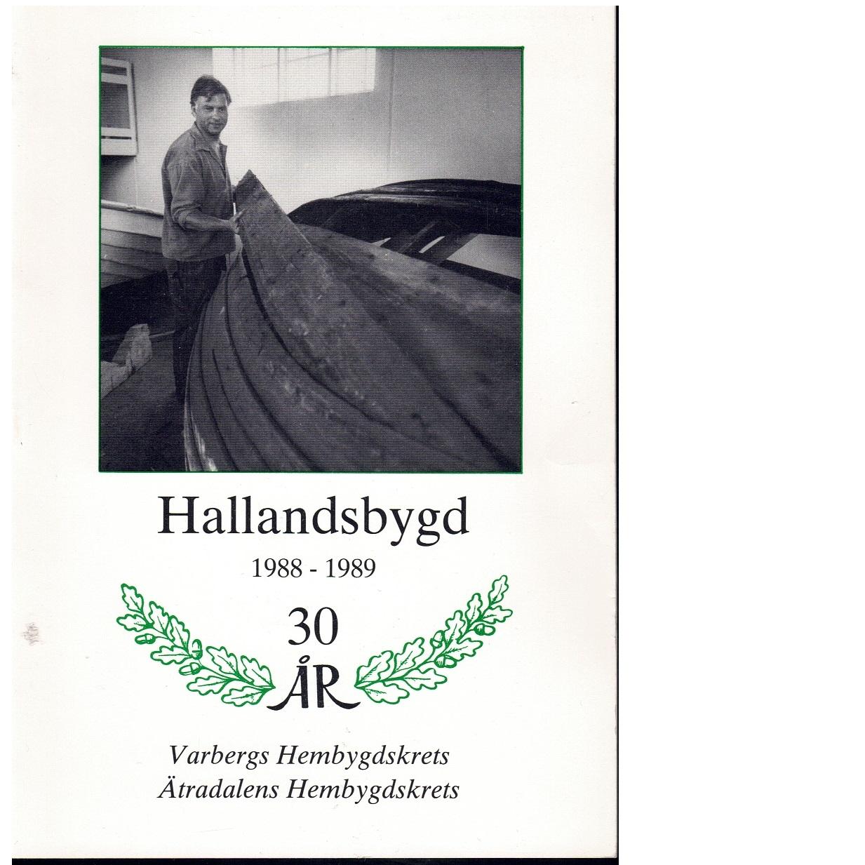 Hallandsbygd 1988-89 - Red.