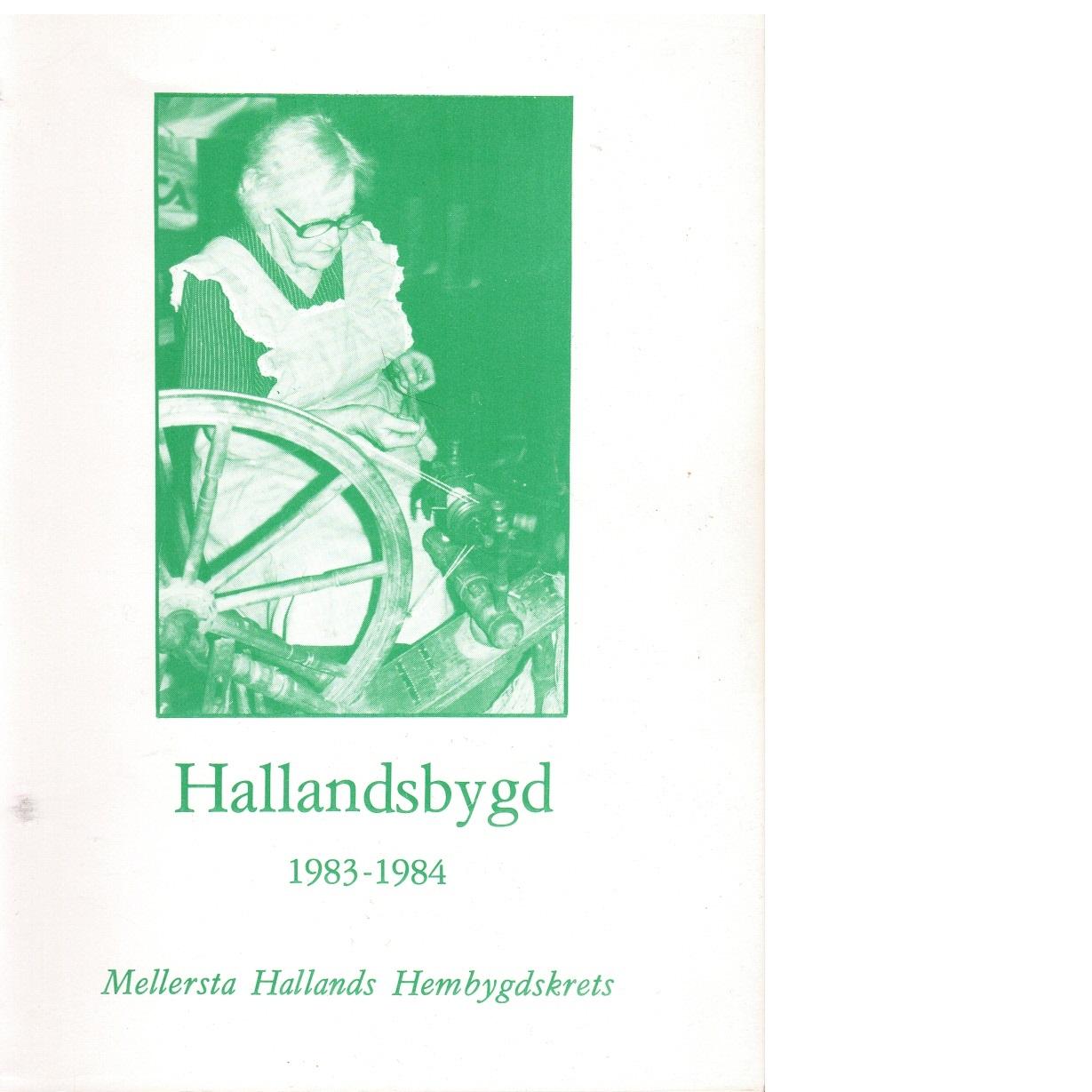 Hallandsbygd 1983-84 - Red.