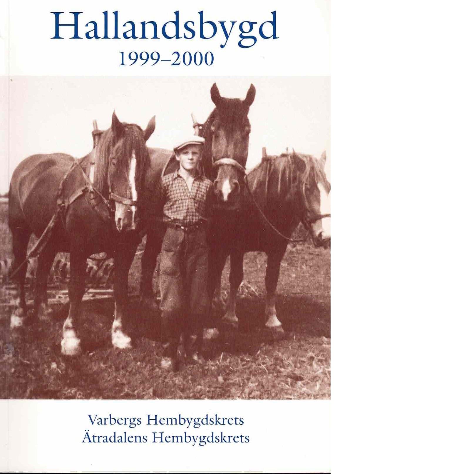 Hallandsbygd 1999-2000 - Red.