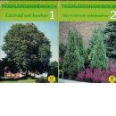 BdB handbok. D. 1, Lövträd och buskar och D. 2, Barrträd och rhododendron - Red.