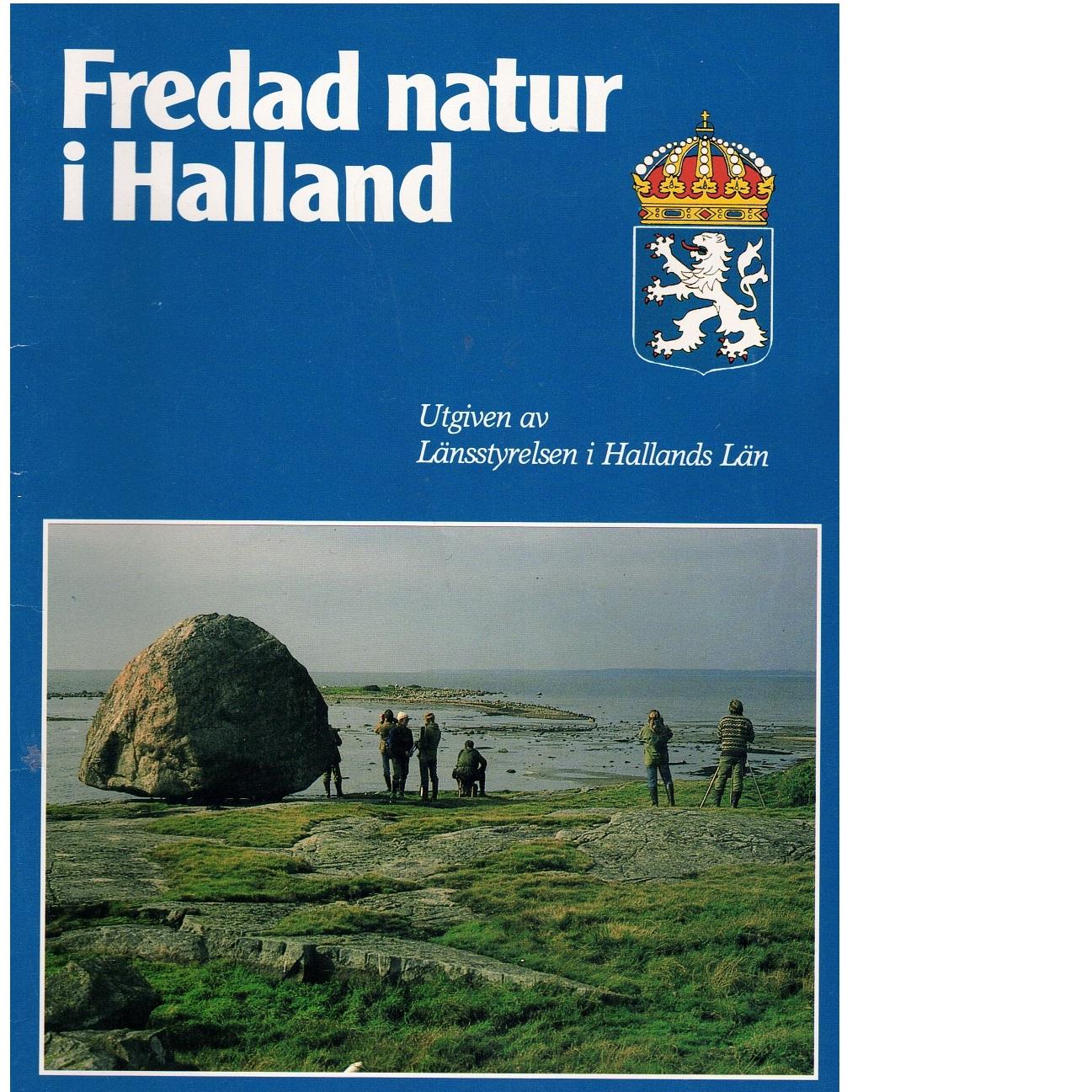Fredad natur i Halland - Sass, Ylva