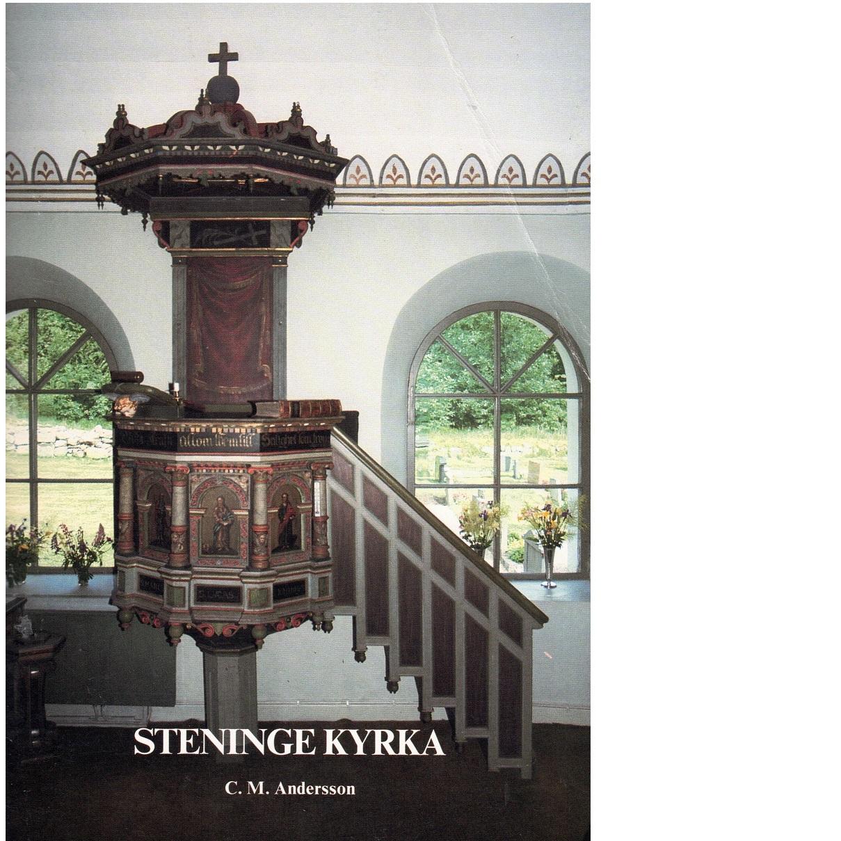 Steninge kyrka - Andersson, Carl Magnus