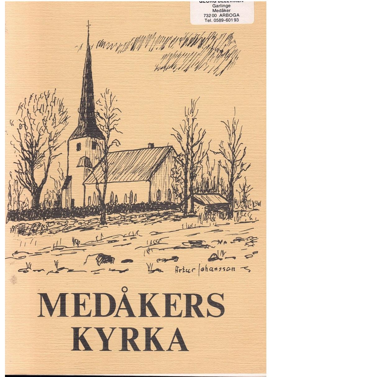 Medåkers kyrka - Henning, Gunnar W.