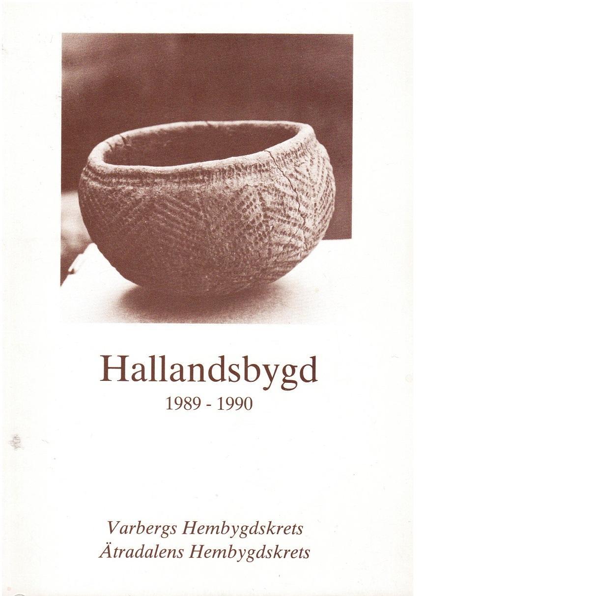 Hallandsbygd 1989-90 - Red.