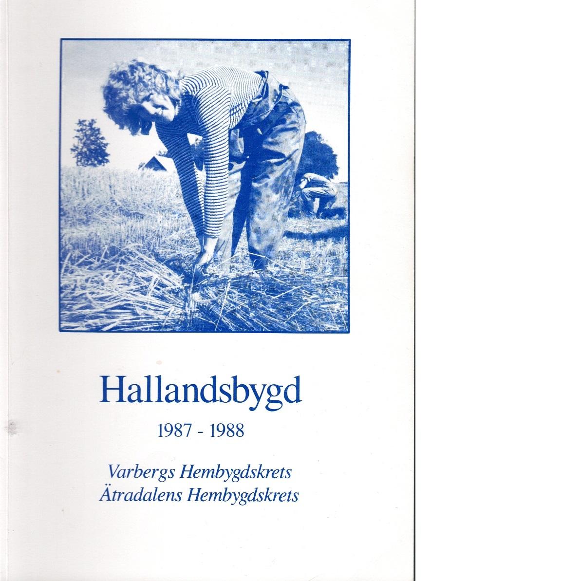 Hallandsbygd 1987-88 - Red.