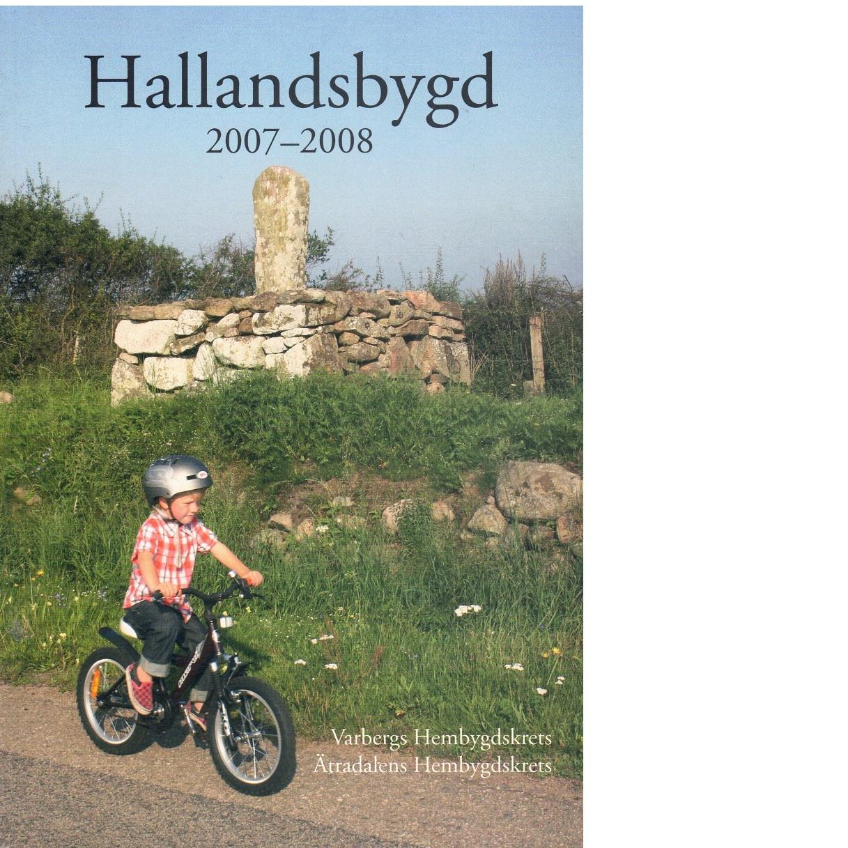 Hallandsbygd 2007-2008 - Red.