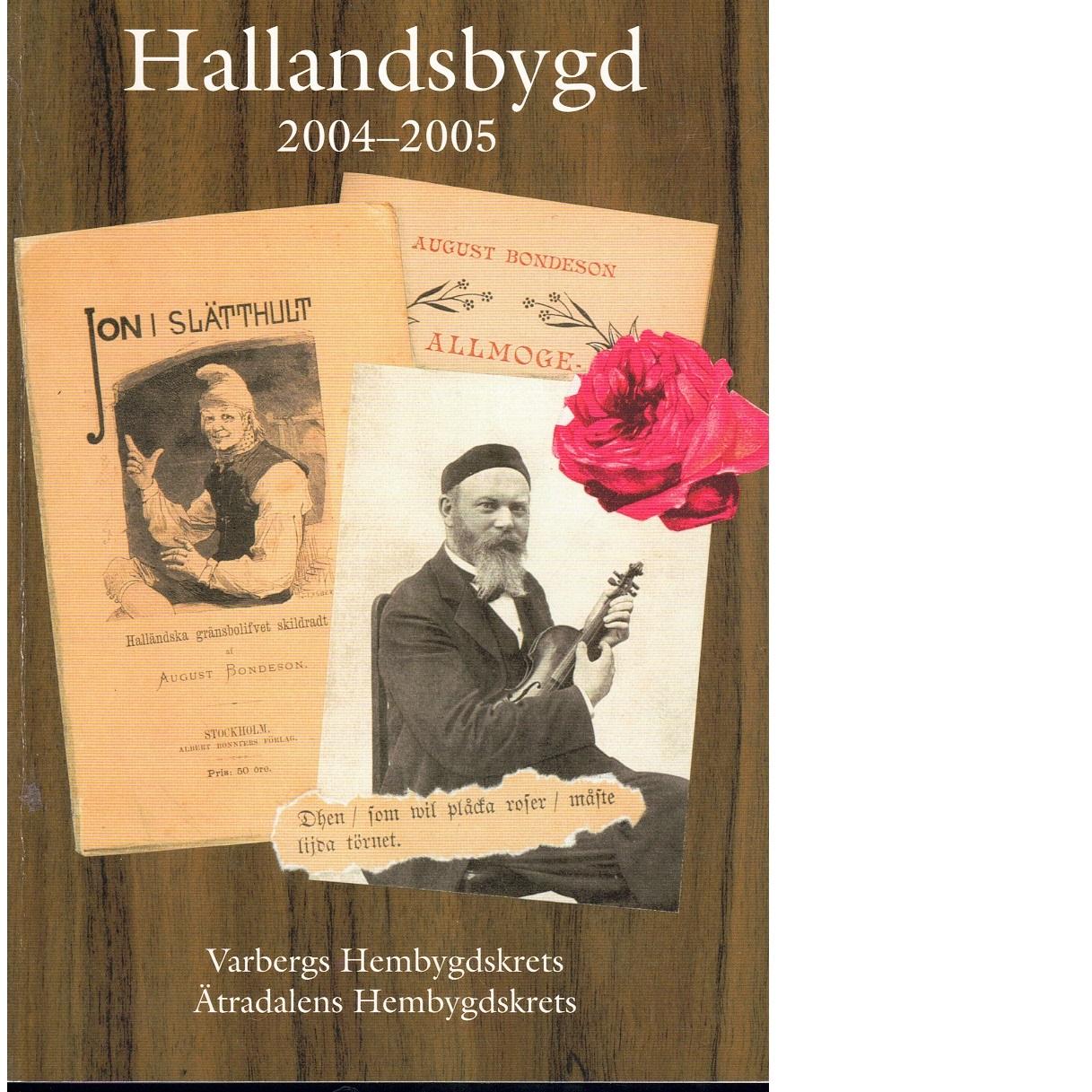 Hallandsbygd 2004-2005 - Red.