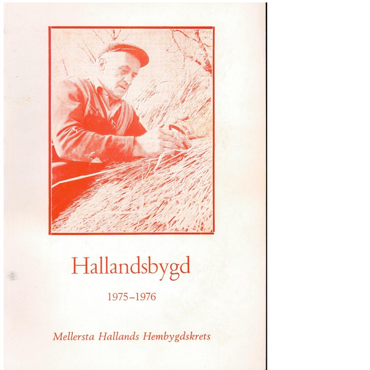 Hallandsbygd 1975-76 - Red.