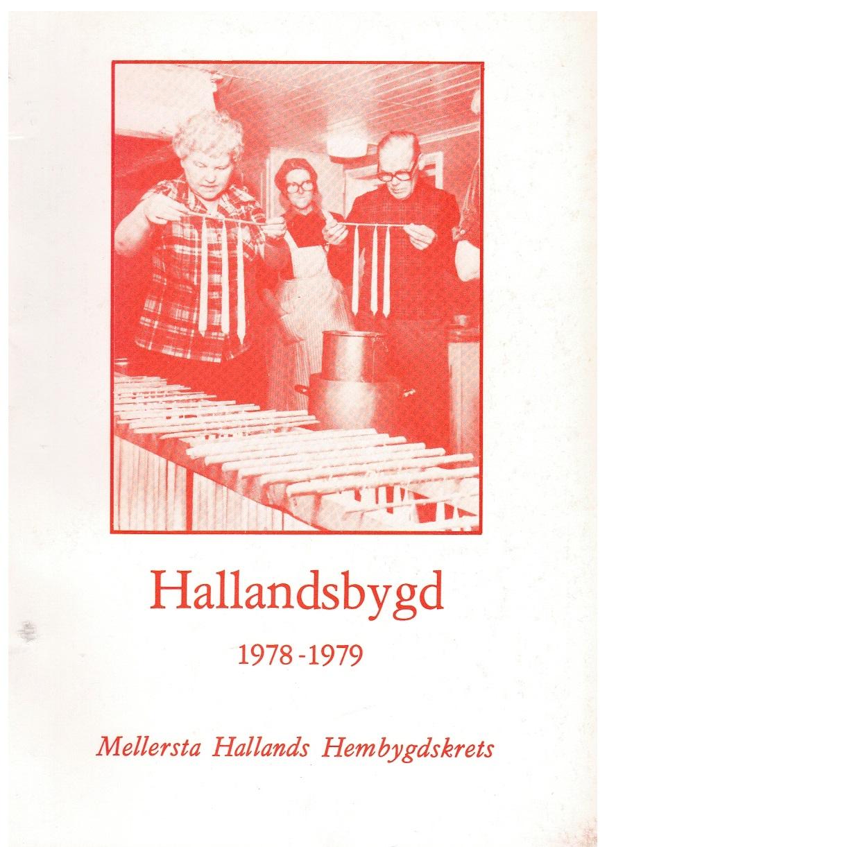 Hallandsbygd 1978-79 - Red.