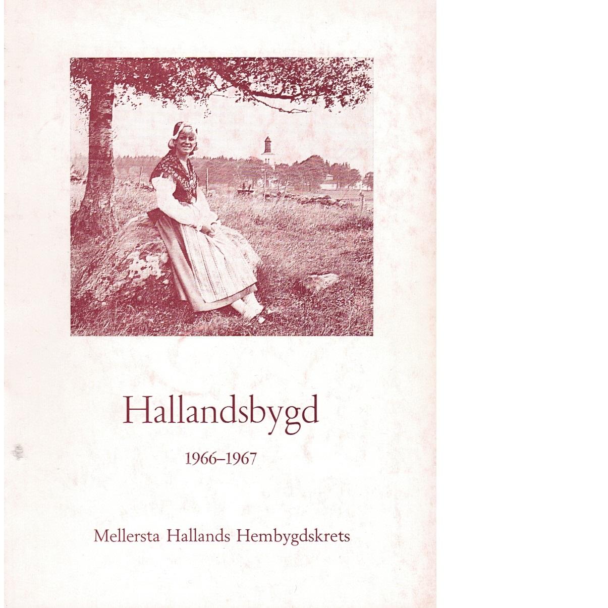 Hallandsbygd 1966-67 - Red.