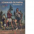 Sommar-olympia  1952 : De sjätte olympiska vinter-spelen i Oslo - Nilsson, Tore
