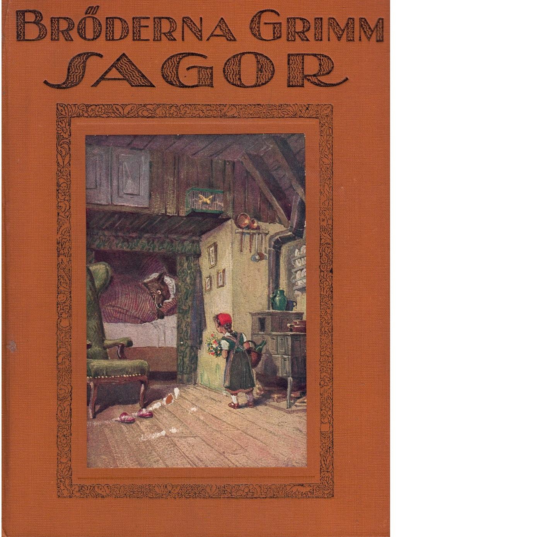 Bröderna Grimms sagor 1+2 - Grimm, Jacob  och  Grimm, Wilhelm