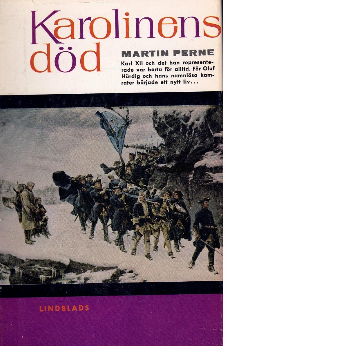 Karolinens död - Perne, Martin