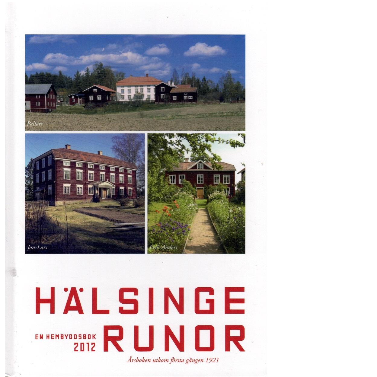 Hälsingerunor 2012 - Red.