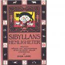 Sibyllans hemligheter : illustrerad trolleri- och spådomsbok : efter äldre källor - Linde, Sven
