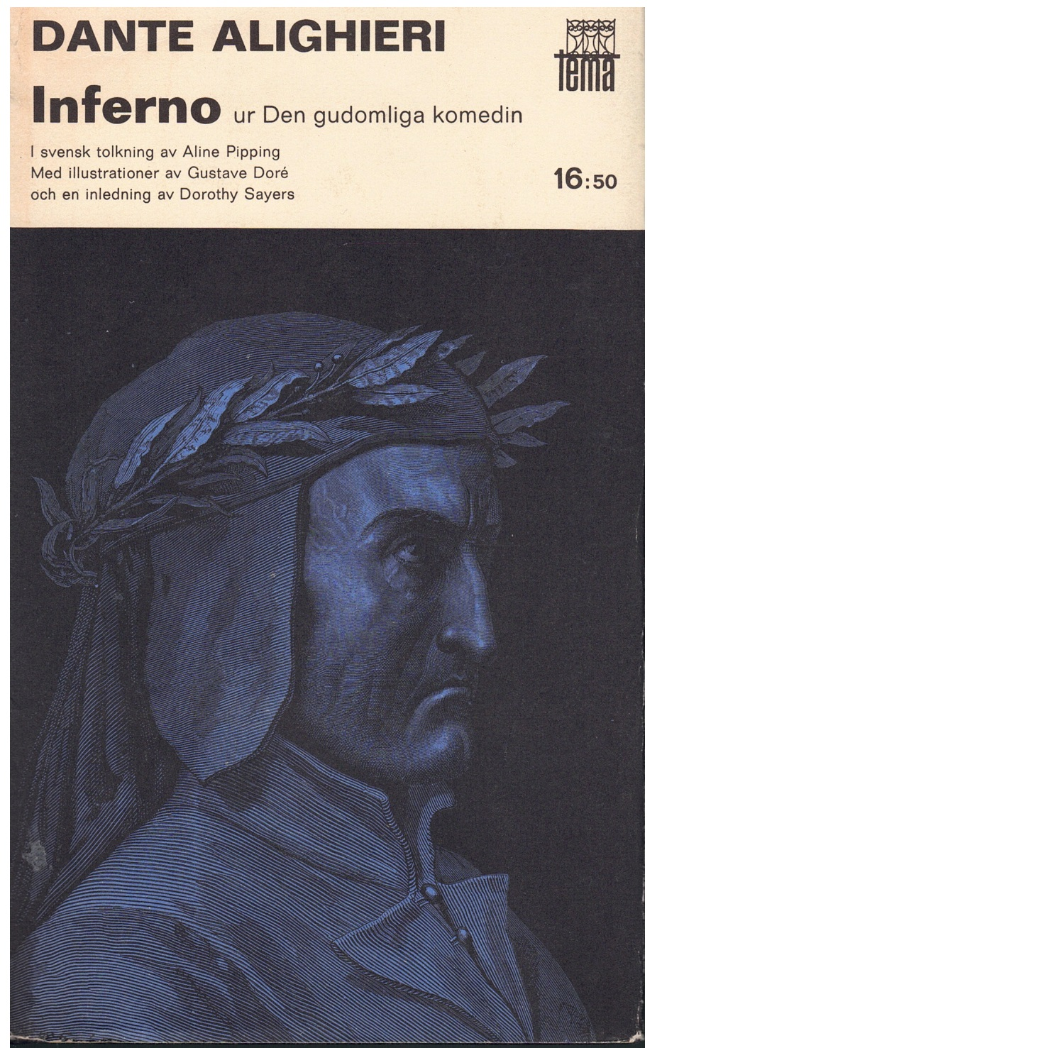 Den gudomliga komedin Inferno - Dante Alighieri
