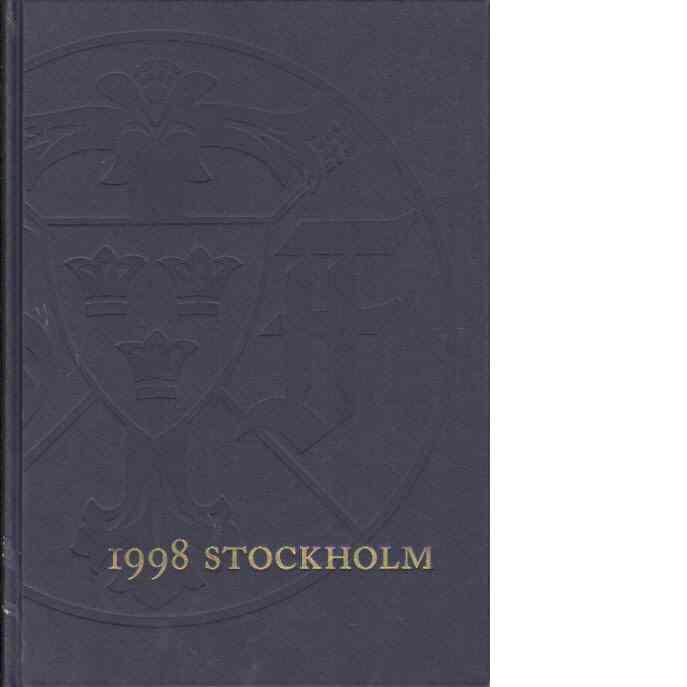 STF:s årsskrift 1998 - Stockholm - Red.