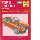 Ford Escort : [1980 till 1990] : gör-det-själv-handbok - Rendle, Steve och Mead, John S.