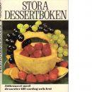 Stora dessertboken - Ahlberg, Marie