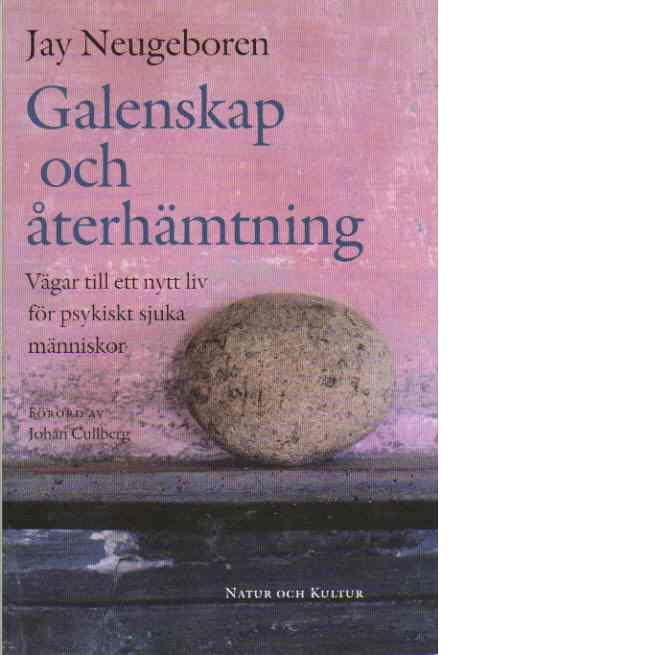 Galenskap och återhämtning : vägar till ett nytt liv för psykiskt sjuka människor - Neugeboren, Jay