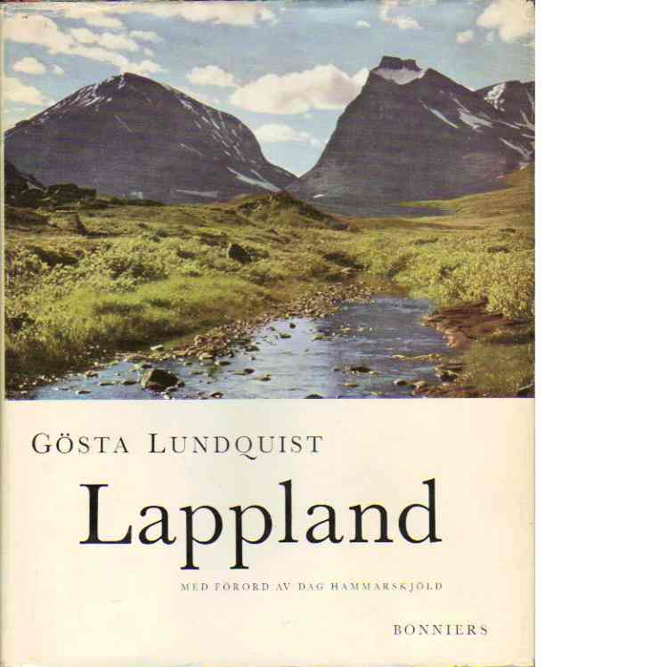 Lappland : en bilderbok om fjäll och människor - Lundquist, Gösta