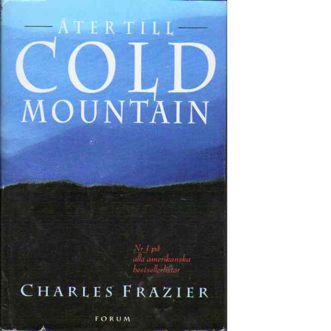 Åter till Cold Mountain - Frazier, Charles