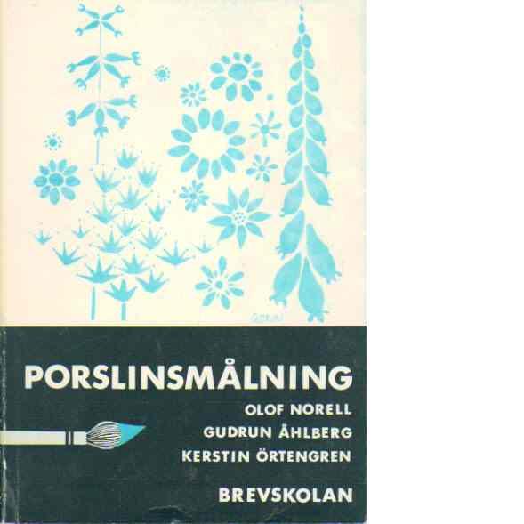 Porslinsmålning - Norell, Olof