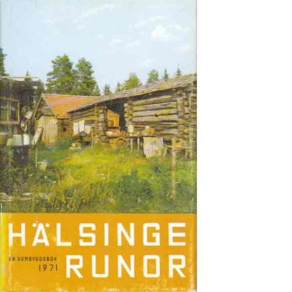 Hälsingerunor 1971 - Red.