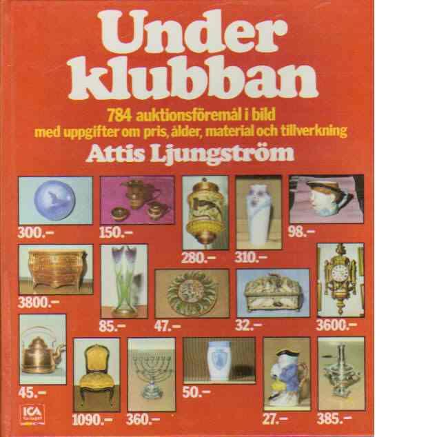 """Under klubban - Ljungström, Astrid """"Attis"""""""
