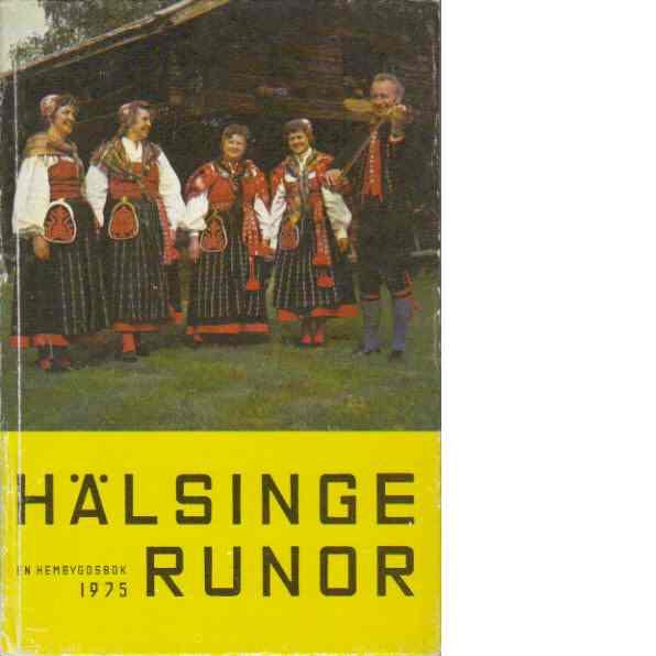Hälsingerunor 1975 - Red.