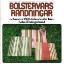 Bolstervarsrandningar och andra 1800-talsmönster från Aska i Östergötland - Larsson, Margareta